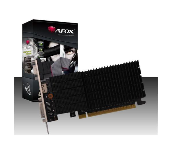 כרטיס מסך AFOX AF710-2048D3V7-V1 FAN GT710 2GB DDR3 LOW PROFILE V