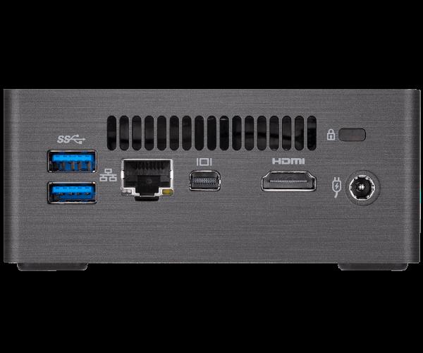 מיני מחשב Gigabyte Brix I3 8130/8GB/240